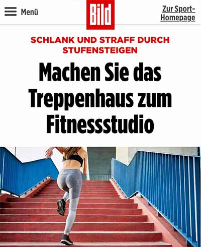 Personal Coach Giersberg über Treppentraining